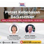 "Talkshow Radio ""Potret Kebebasan Berkesenian"""
